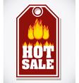 Hot deal design vector image