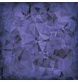 Blue Polygonal Background vector image