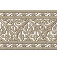 horizontal seamless arabic vector image vector image