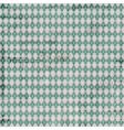 vintage argyle pattern vector image