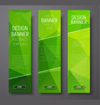 banner polygon template vertical 01-12 vector image