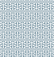 Delicate seamless pattern with anchors vector image vector image