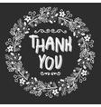 Card Thank You vector image