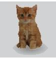 Screw design - kitten vector image