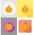halloween flat icons 02 vector image vector image
