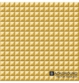geometric background Gold seamless cubes vector image