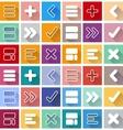 Arrow sign icon vector image