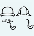 Sherlock Holmes vector image vector image