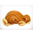 Peanut buttericon vector image