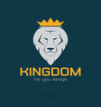 Lion kingdom vector image