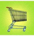 Grocery cart shopping vector image