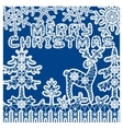 fir tree for laser cutting vector image