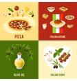 Italian Food Design Concept vector image