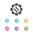 of toolkit symbol on options vector image