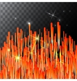 Abstract Bright Falling Star - Shooting with vector image