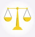 Justice Balance Libra icon symbol logo Modern styl vector image