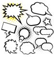 talking bubble vector image