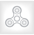 toy fidget spinner or hand spinner vector image