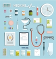 Medicine Objects and Medicament Collection vector image