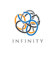 concept icon infinity vector image