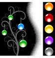 Black site design vector image