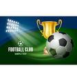 Soccer Card vector image vector image