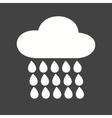 Raining vector image