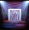 disco abstract background disco ball texture vector image
