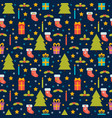 cute seamless pattern holidays background with vector image