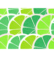 Lime segments seamless background vector image