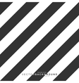 Black and white striped background vector image