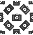 First aid box icon pattern vector image