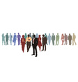 People business Network vector image vector image