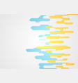 abstract minimal corporate tech shapes background vector image