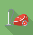 Vacuum Cleaner icon Modern Flat style with a long vector image