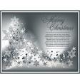 Christmas luxury background vector image vector image