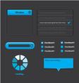 Elegant web design vector image