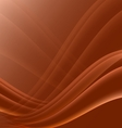 Orange and black waves modern futuristic abstract vector image vector image