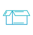 cardboard box delivery business element vector image