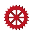 single gear icon vector image