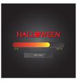 halloween loading background vector image