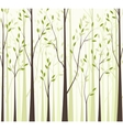 Trees 43 vector image vector image