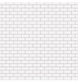 modern seamless white brick background vector image
