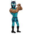 Wrestler Dragon vector image