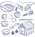 pet food vector image