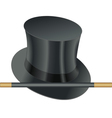 Hat wand vector image