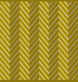 Zig zag gold seamless pattern vector image