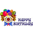 designer s decisions for a birthday party wig vector image
