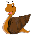 snail cartoon for you design vector image