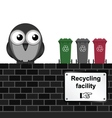 Recycling Facility vector image vector image